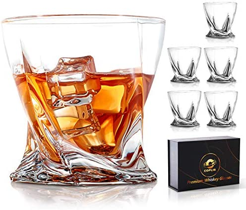 Whiskey Glasses 11 Oz Old Fashioned Glasses With Luxury Gift Box Premium Crystal glasses Perfect product image
