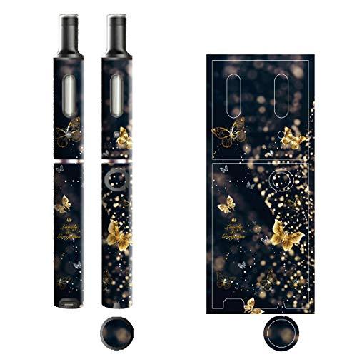 電子たばこ タバコ 煙草 喫煙具 専用スキンシール 対応機種 プルームテックプラスシール Ploom Tech Plus シール Lovely & Gorgeous 15バタフライ 22-pt08-ca0631