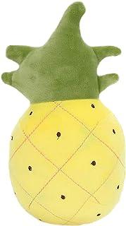 Toyvian Juguete de Peluche de Piña Cojín de Almohada de Piña Juguete de Piña Relleno Almohada de Piña Esponjosa Decoración del Hogar 28 Cm