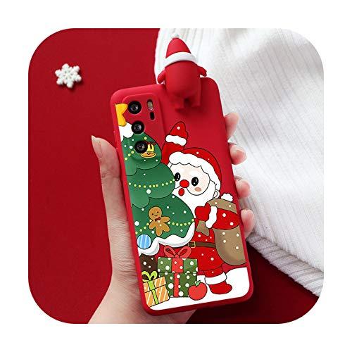 3D Cute Christmas Deer Case für Huawei P30 P20 P40 Lite E Pro Mate 10 20 Lite Plus Y6 Y7 Y9 P Smart 2019 2020 Y6P Y8P TPU Cover-Krho-sdlrlshu-Y9 Prime 2019