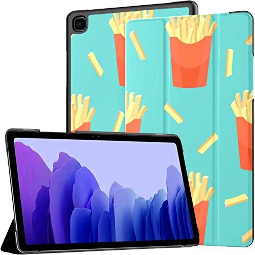 Tasty French Fries Potato Galaxy Tab A7 10.4 2020 Coque Galaxy Tab A7 10.4 Pouces Galaxy Tablet Case Tablet avec étui avec réveil Automatique/Sommeil Fit Galaxy Tablet Case