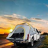 DFFng Tienda de campaña con Cama para camioneta, Capacidad para Dormir para 2 Personas con Bolsa de Almacenamiento, se Adapta a camionetas de tamaño Completo con Cama Corta - 65'-67'