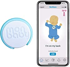 MonBaby (A) Baby Sleep Monitor with Breathing, Body Movement Rollover and Temperature..