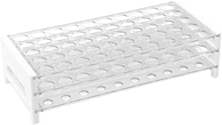 Karter Scientific 208U2 Plastic Test Tube Rack for 15/17 mm Tubes, Holds 50, Detachable