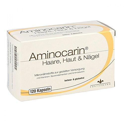 Aminocarin Haare Haut & Nägel, 120 St. Kapseln
