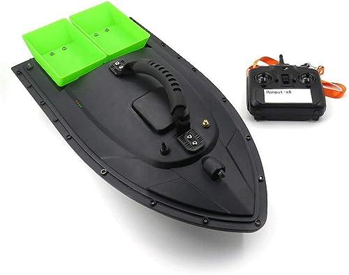 cómodo AXJJ Cebo de Pesca Barco RC RC RC Barco 500 m Control Remoto 1.5 kg Cargando Fish Finder con Motor Doble Pesca en Barco Accesorios de Pesca Regalos para hombres  precioso