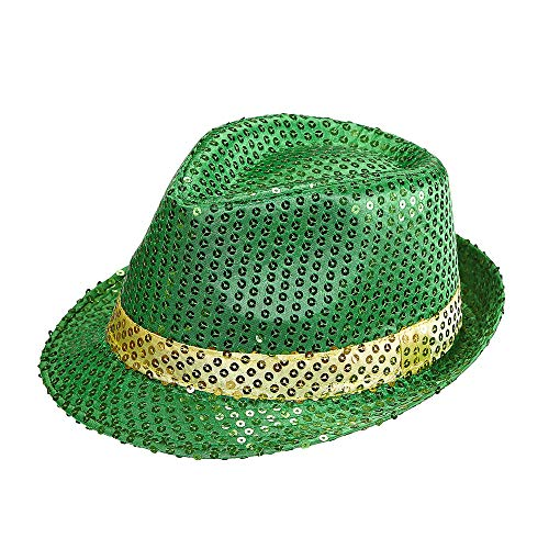 Widmann - Fedora Hut St. Patricks Day mit Pailletten