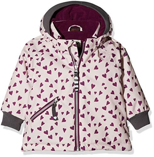 Racoon Baby-Mädchen Beate Heart Jacket Jacke, Violett (Violet Ice VIO), 80