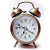 SHOPMENT™ Brown Royal Smart Alarm Clock with Automatic Sensor Button Alarm for Home