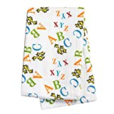 Dr. Seuss ABC Deluxe Flannel Swaddle Blanket