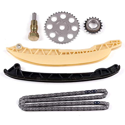 SCITOO Timing Chain Kit fits for 2001-2009 9-4800S TK825Y ford Courier Fiesta Ikon Ka 1.6L