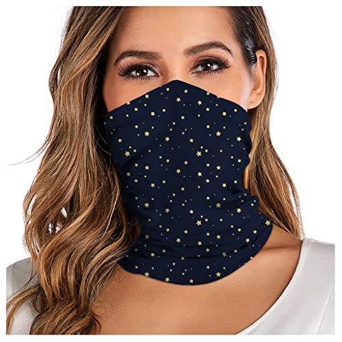 Face Shield Multifunktionstuch Motorrad Mundschutz Halstuch Bandana Schlauchschal für Damen Herren- 3D Drucken Maske Halsschlauch Halstuch mit Motiv