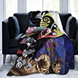The Nightmare Before Christmas Blanket Ultra-Soft Micro Fleece Blanket, Microfiber Blanket, Throws Air Conditioning Blanket, for Bedding Sofa Travel 50'X40'