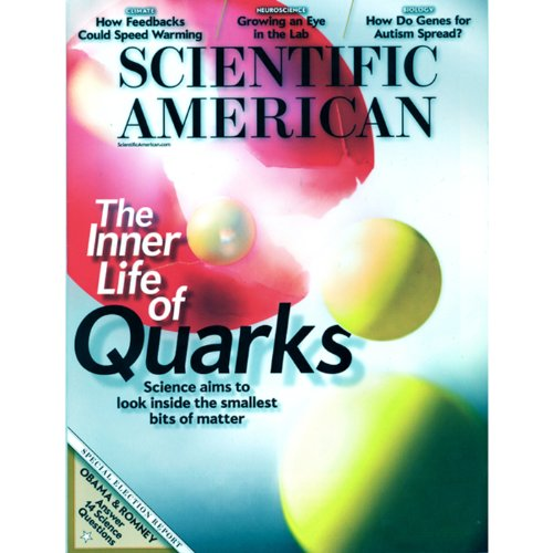 Scientific American, November 2012 audiobook cover art