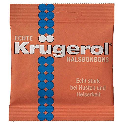 14 Beutel Echte Krügerol HalsBonbon mit Zucker a 50g