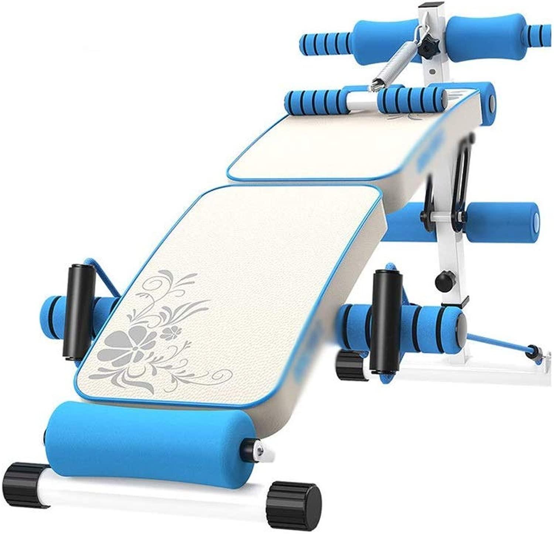 DUXX 仰臥位ボード、ホーム折りたたみ椅子フィットネススポーツ腹部ボードフィットネス機器(2色) トレーニングベンチ