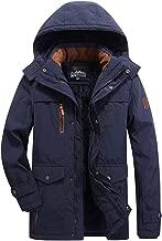 $65 » DDLmax Men's Waterproof Fleece Mountain Jacket Winter Windproof Warm Ski Snowboarding Jacket with Multi-Pockets