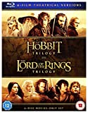 Hobbit Trilogy/The Lord Of The Rings Trilogy (6 Blu-Ray) [Edizione: Regno Unito] [Reino Unido] [Blu-ray]