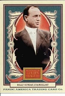 2013 Panini Golden Age Baseball Card #2 Billy Sunday