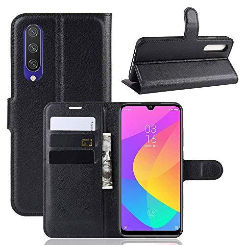 Capa Capinha Carteira 360 Para Xiaomi Mi A3 e CC9e Case Couro Flip Wallet - Danet (Preta)