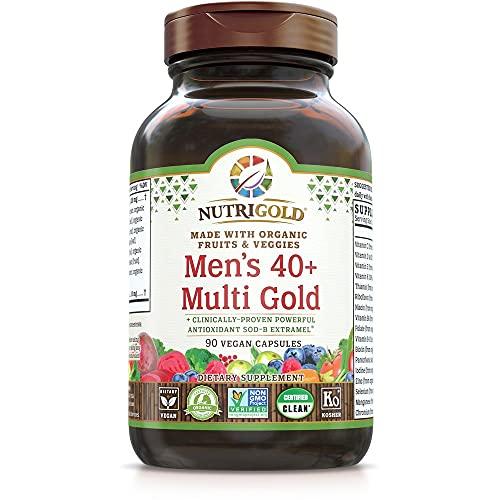 NutriGold Men's 40 Plus Multivitami…