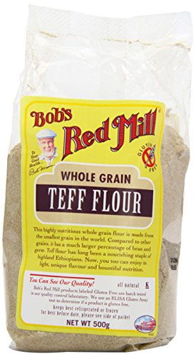 Bobs Red Mill Gluten Free Teff Flour 500 g (order 4 for...