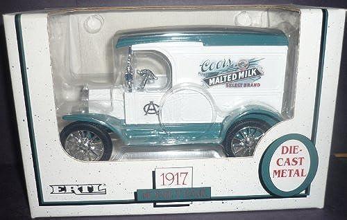 Ertl Coors Malted Milk 1917 Model T 1 25 Scale Diecast Bank by Ertl