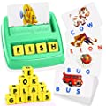 ATOPDREAM TOPTOY Matching Letter Game for Kids - Best Gifts Educational Toys Stocking Stuffer Stocking Fillers Christmas Xmas Gifts Present(Green)
