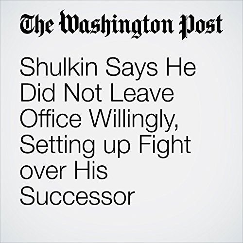 Shulkin Says He Did Not Leave Office Willingly, Setting up Fight over His Successor copertina
