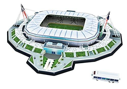 YXST Rompecabezas Tridimensional En 3D DiseñO De Campo De FúTbol,Kit De Manualidades DIY,para Adultos Juegos Juguetes Educativos Aficionados Al FúTbol Recuerdos
