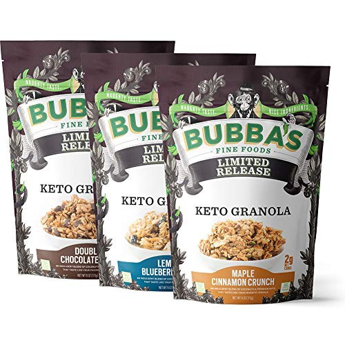 (15% OFF) Keto Friendly Granola Variety 3 Pack $16.99 Deal
