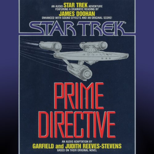 Star Trek: Prime Directive audiobook cover art