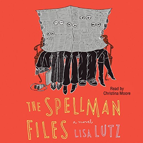 Spellman Files audiobook cover art