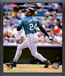 MLB Ken Griffey Jr. Seattle Mariners Action Photo (Size: 12