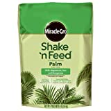 Miracle-Gro Shake 'n Feed Continuous Release Palm Plant Food, 8-Pound...