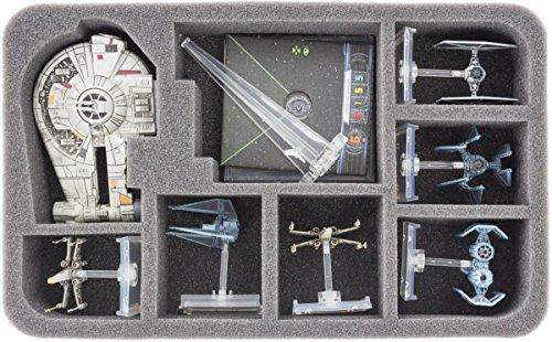 HSBL050BO Schaumstoffeinlage kompatibel mit Star Wars X-Wing YT-2400 Frachter