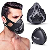 DMoose Fitness Gym Mask, with Adjustable Resistance, Breathing Mask for High Altitude Elevation Training, Boxing, MMA, Cardio, HIIT Training and Building Endurance [16+ Adjustable Resistance Levels]