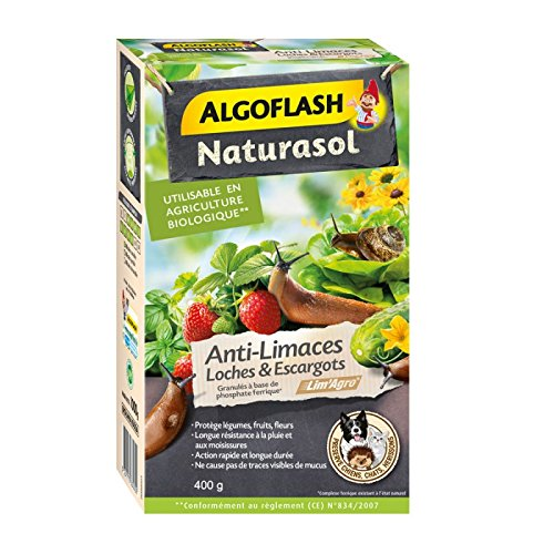Algoflash ANTI LIMACES LOCHES ET ESCARGOTS 400 G