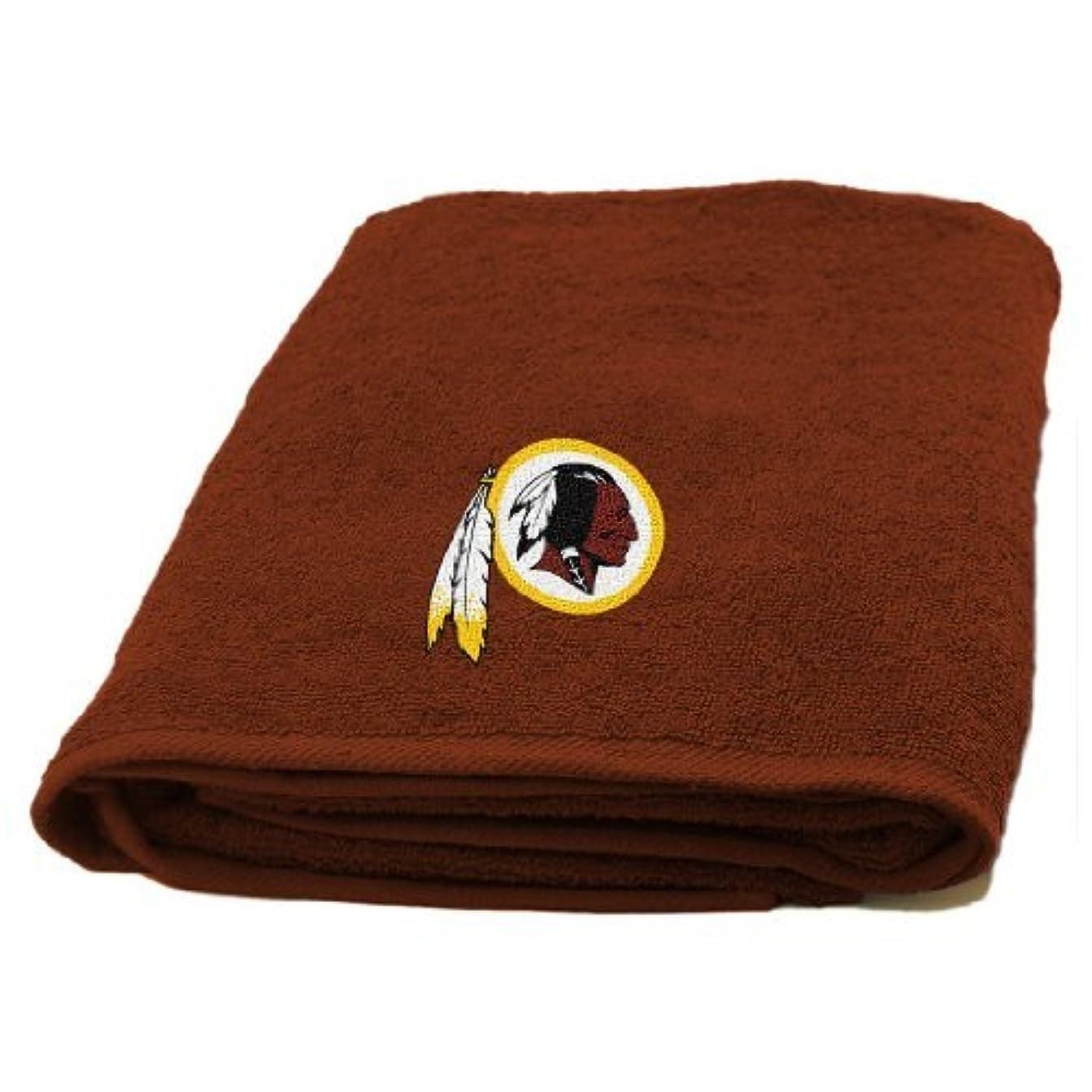 公使館匿名農奴The Northwest会社、LLC NFLレッドスキンズアップリケバスタオル
