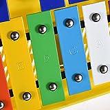 Immagine 1 muslady xilofono glockenspiel metallofono colorato