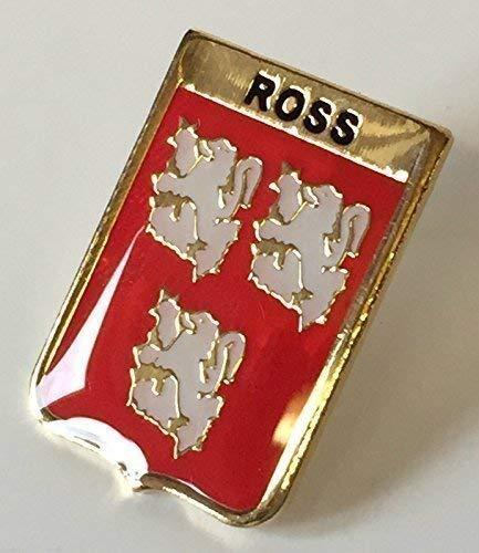 Écosse Famille Nom de Clan Ross Crêté Insigne de Goupille de Revers