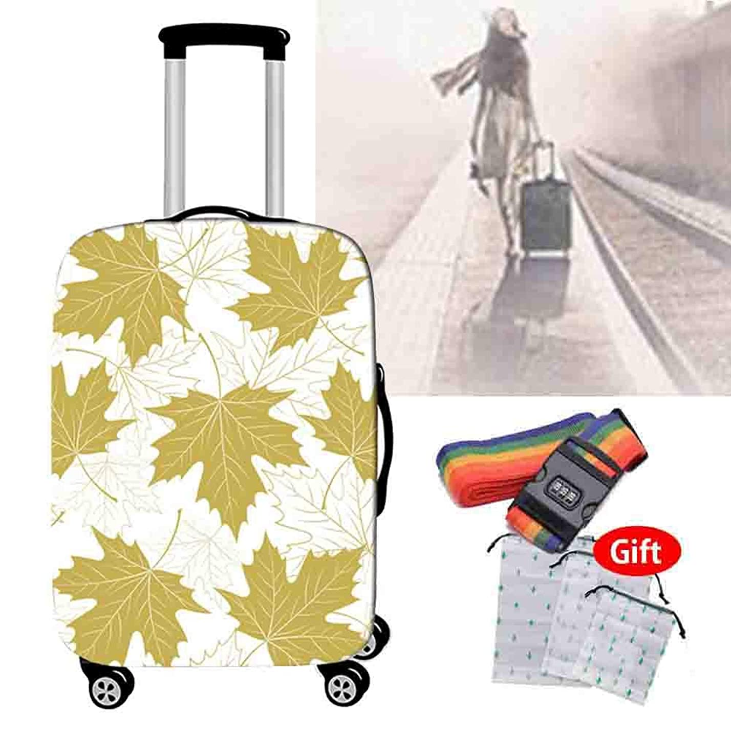 ほとんどない究極の打倒18-32インチスーツケースカバー高弾性ウェアホーム旅行通気性の防水?防塵保護カバー