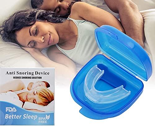 Anti Schnarch Schnarchstopper, Anti Schnarchschiene, Anti Schnarchen Geräte Hilft Gegen Schnarchen, Schlafapnoe & Schweres Atmen