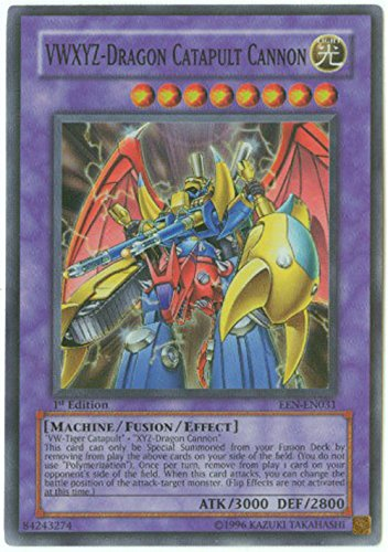 Yu-Gi-Oh! - VWXYZ-Dragon Catapult Cannon (EEN-EN031) - Elemental Energy - Unlimited Edition - Super Rare