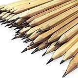 OMG Matite da ufficio in legno naturale laccato, HB, confezione da 288...