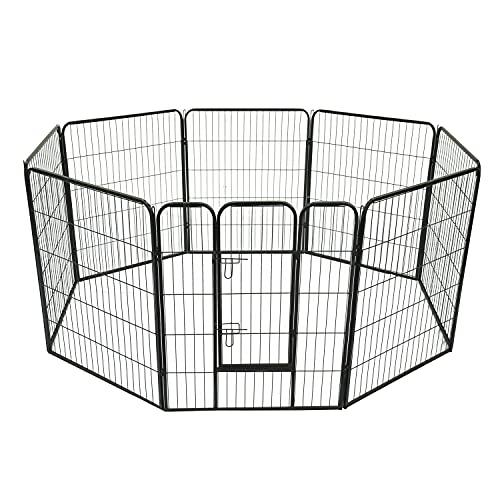 riotti Recinto Modulare per Animali Domestici 8 Pezzi 80x100 cm