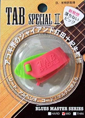 TAB TP112-KGXP 蛍光グリーン×ピンク サムピック TAB Special II MEDIUM