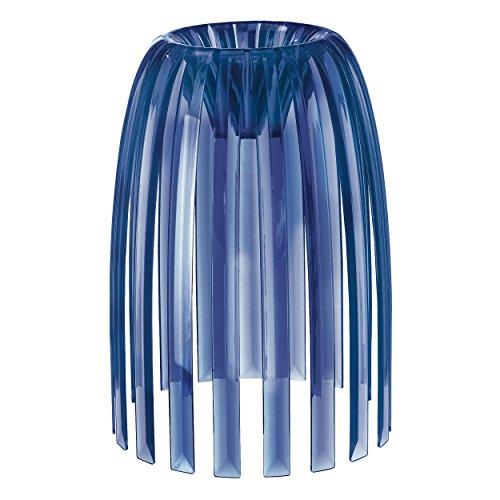 Koziol Lampenschirm Josephine S transparent deep Velvet Blue