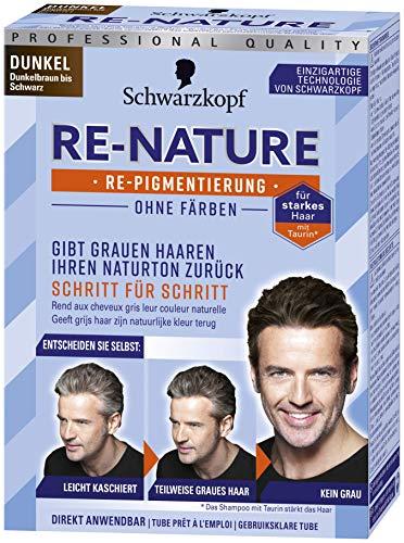 Schwarzkopf Re-Nature Re-Pigmentierung, Männer Dunkel Stufe 0, 145ml