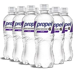 Hydrate your workout with the refreshing taste of Propel Water Grape Flavored Water with Electrolytes, Vitamins and No Sugar. A flavored water backed by the Gatorade Sports Science Institute, Propel Water has electrolytes, antioxidants and vitamins t...
